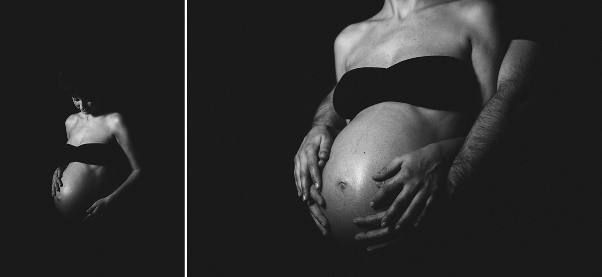 Fotografía artística embarazo -Mireia Navarro