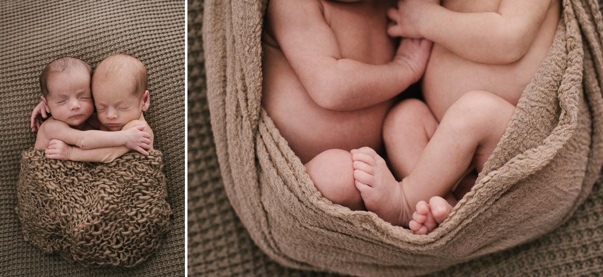Recién nacidos gemelos