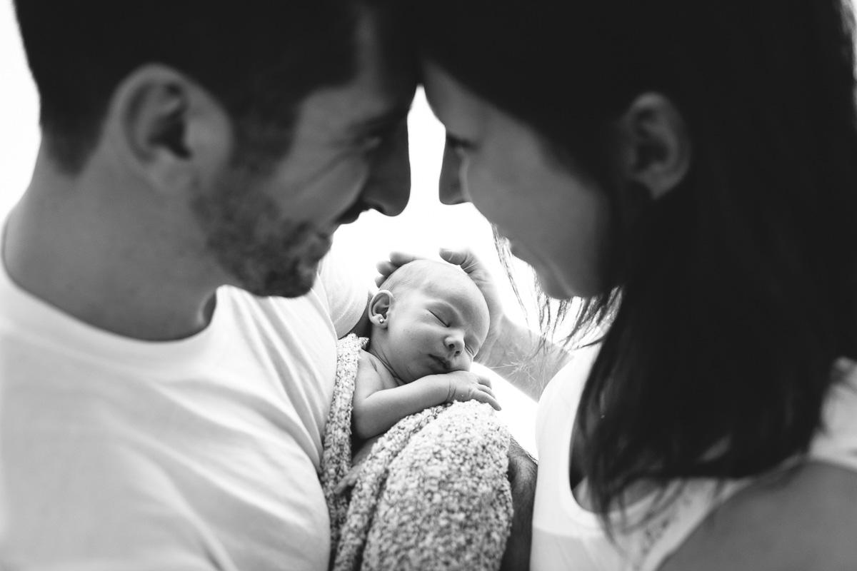 Fotografía de embarazo y recién nacido