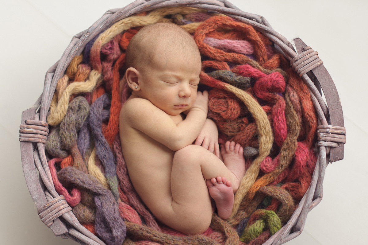 Fotografía recién nacido Barcelona