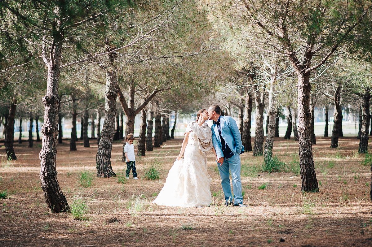 Post wedding photography