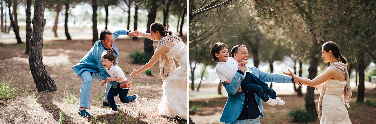 Post wedding and family photography