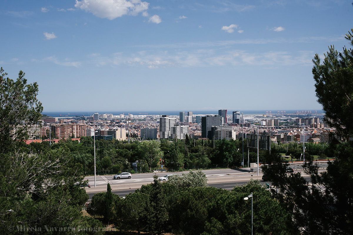 Vistas desde el Hospital Sant Joan de Deu